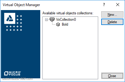 Virtual Object Manager