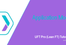 LeanFT Application Model