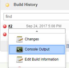 Jenkins - Build History