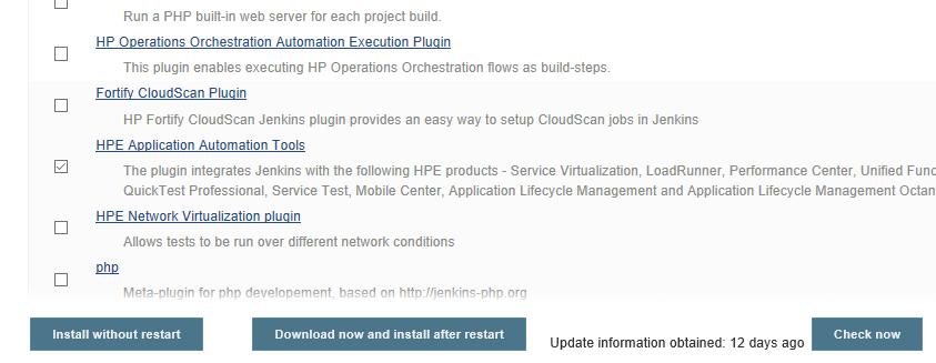 Jenkins - Install Plugins