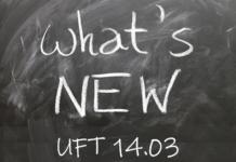 UFT 14.03