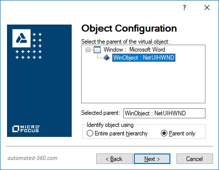 Virtual Object Configuration